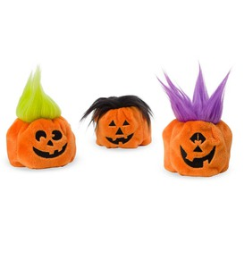 Set of 3 Hair-Raising Pumpkins