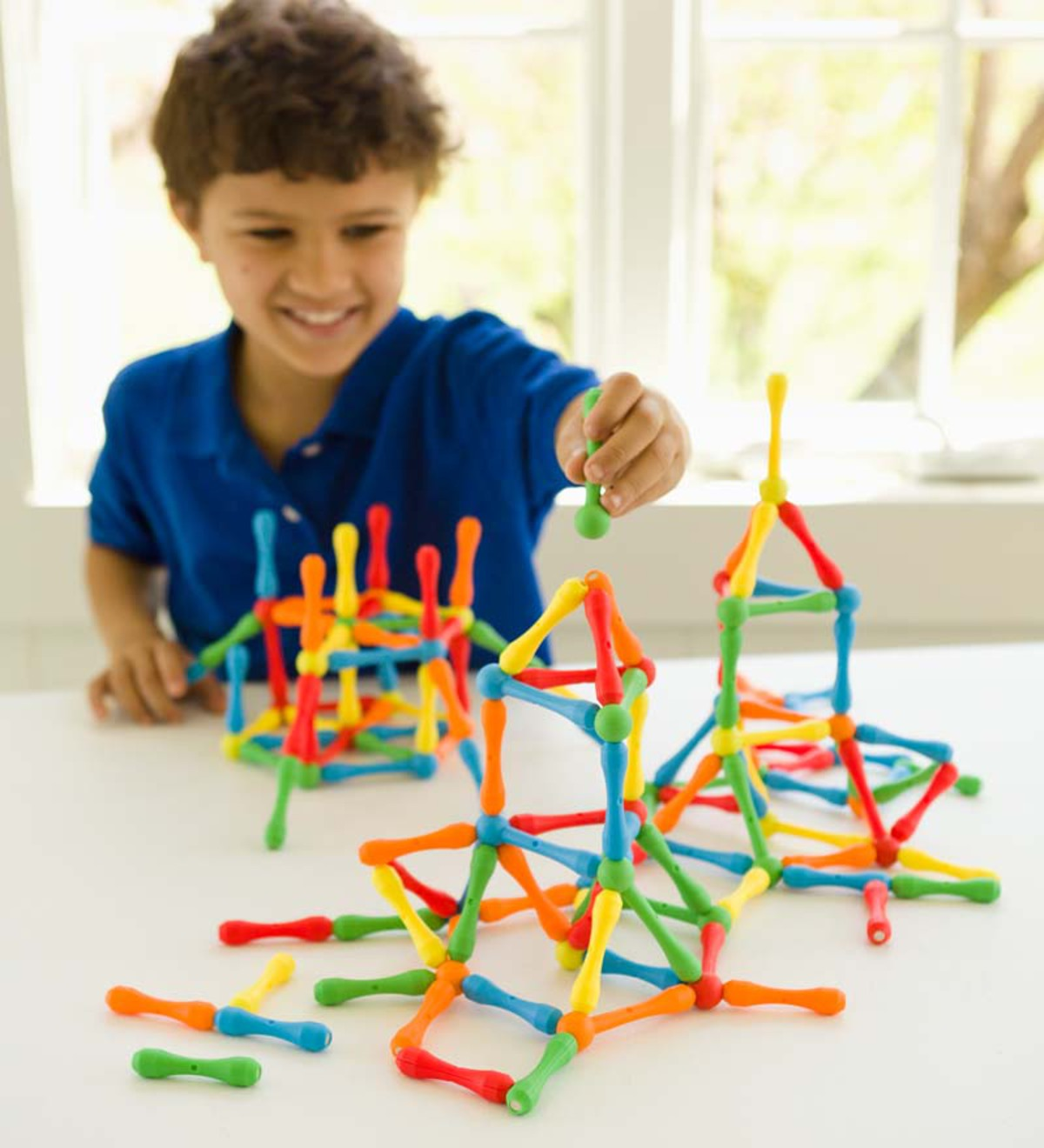 24-Piece Ionix Magnetic Building System