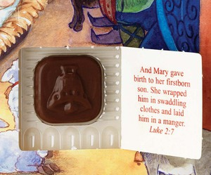 Chocolate Nativity Advent Calendar