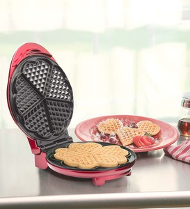Kalorik Stainless Steel Heart Shape Waffle Maker