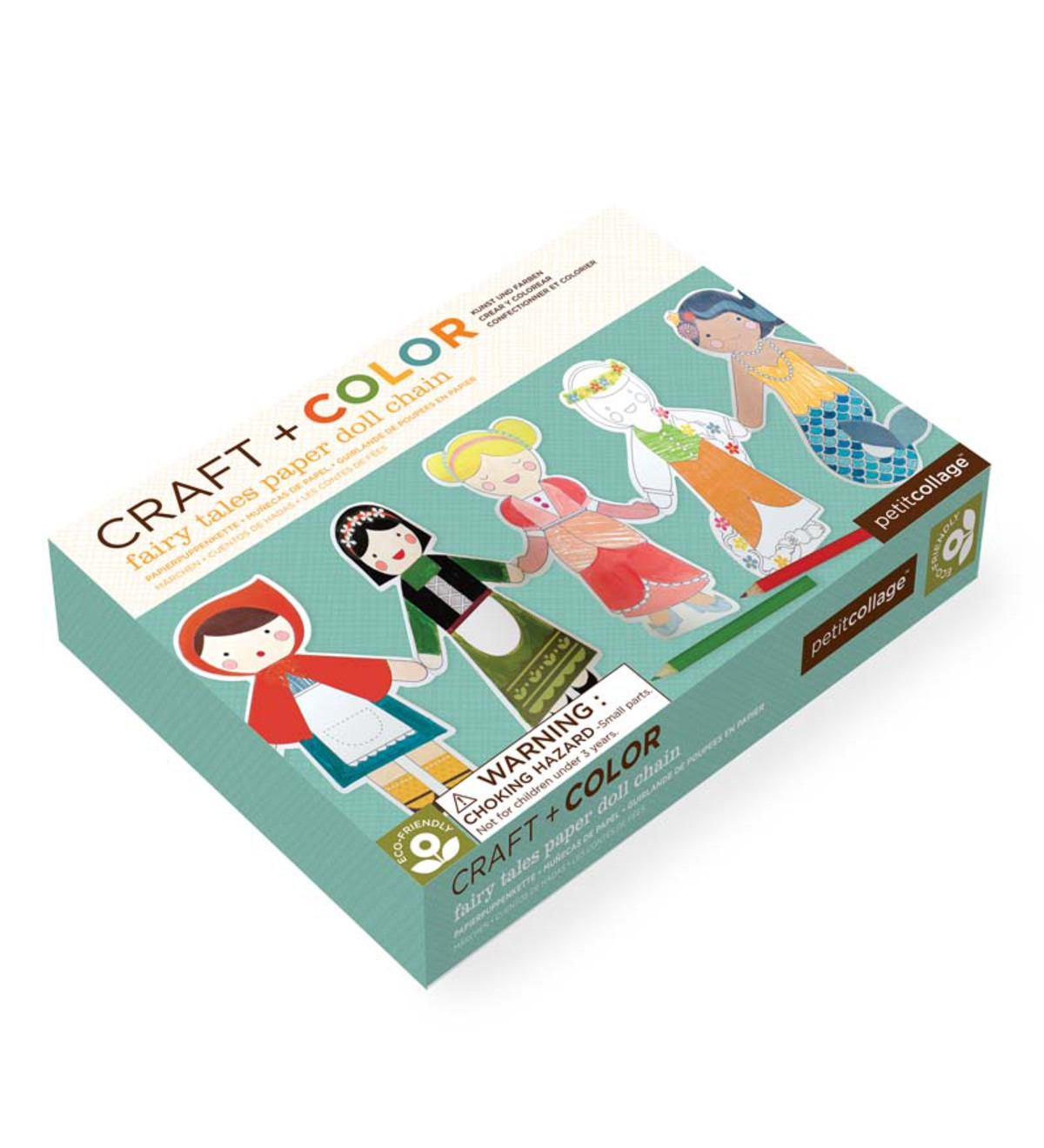 Craft-and-Color Paper Doll Chain