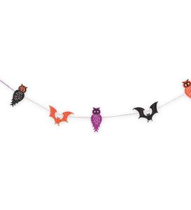 Unflappable Felt Halloween Garland