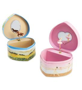 Musical Heart-Shaped Treasure Box