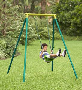Quadpod Swing and Adjustable Swing Frame