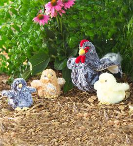 Pepper Hen and Fuzzy Chick Easter Egg Special - Black