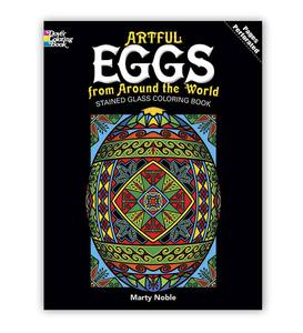 Easter Stained-Glass Coloring Books
