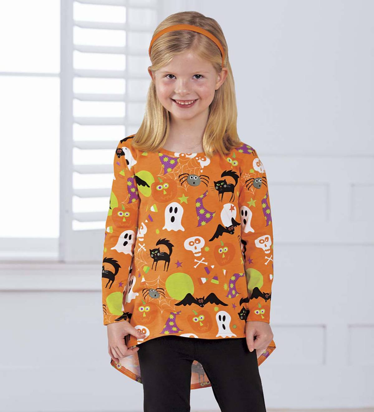 Halloween High Low Tunic