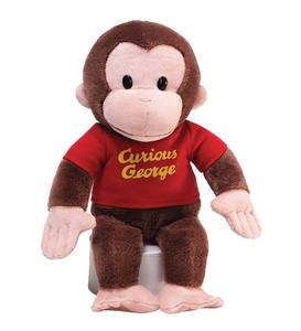 <i>Curious George: 75th Anniversary Edition</i> Book and Curious George Plush