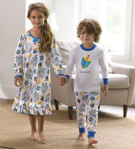 Hanukkah Gown and Pajamas