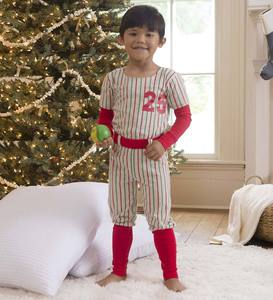 Personalized Baseball Pajamas