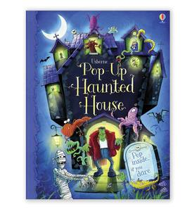 Pop Up Haunted House Book