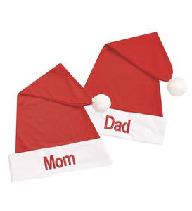 Personalized Santa Hat - Red - 7/14