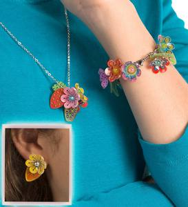 Shrinky Dinks Flower Jewelry Kit