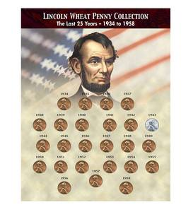 The Last 25 Years of Lincoln Wheat Penny Collection