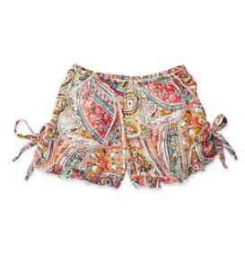 Paisley Flower Power Shorts