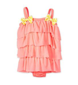 Tiered Ruffle One-Piece Swimsuit