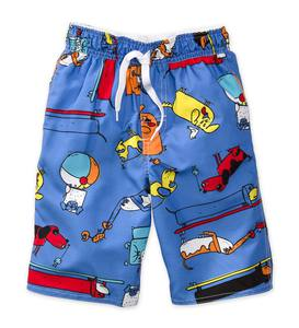 Dog Swim Trunks - Multi - /12