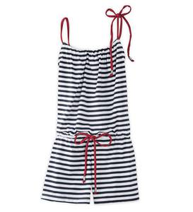 Stripe Romper Cover-Up - Multi - /12