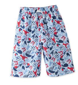 Boat and Anchor Swim Trunks