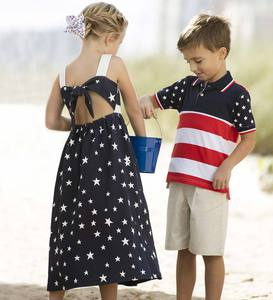 Short Sleeve Flag Polo