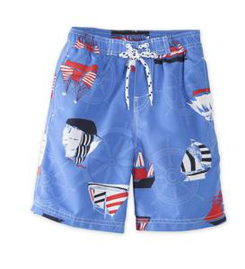 Sailboat Swim Trunks