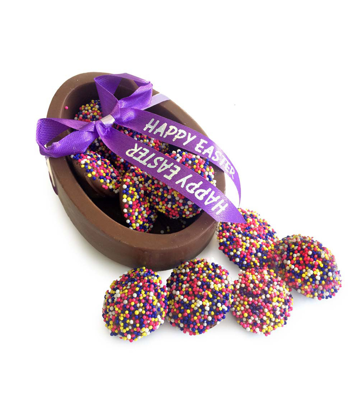Easter Egg Chocolates Dish