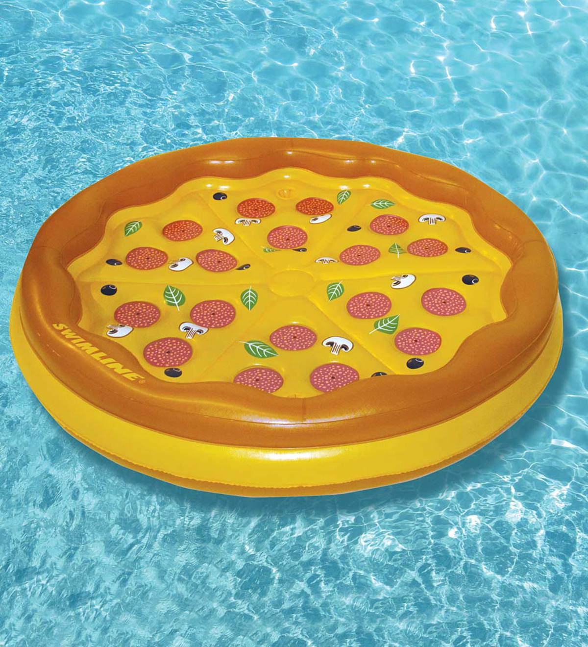 Personal Pizza Pie Island Float