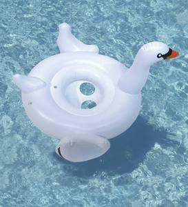 Baby-Seat Swan Float