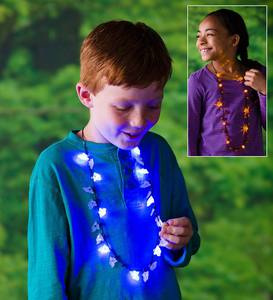 Light-Up Halloween Necklaces (set of 2)