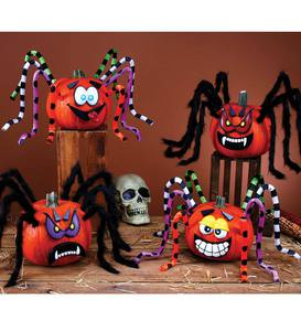 Crazy Legs Spider-Pumpkin Decorating Kit