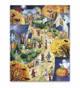 Halloween Town 550 Piece Puzzle