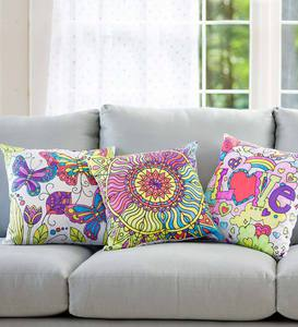 Color Pops® Color-Your-Own Pillow Kit