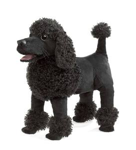 Poodle Hand Puppet