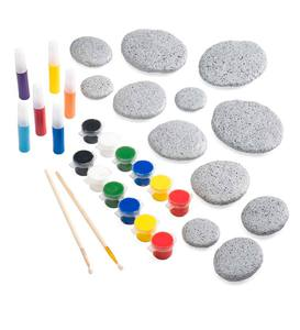 Color Pops Paint-Your-Own Rocks: Mandala