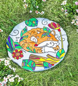 Color Pops® Color Your Own Garden Stone: Sun