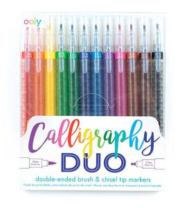 Calligraphy Duo Double-Ended Markers (set of 12)