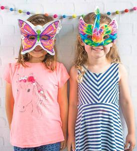 3D Colorables Masks (set of 2)