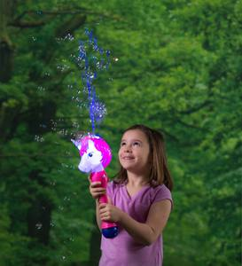Light-Up Unicorn Bubble Wand