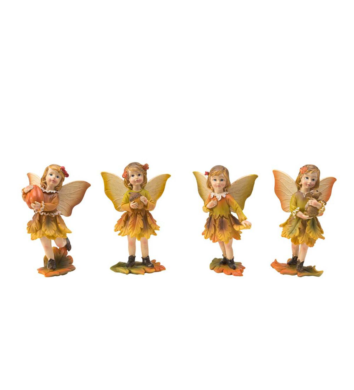 Set of Four Enchanted Harvest Fairies