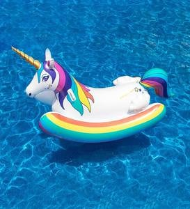 Unicorn Rocker Pool Float
