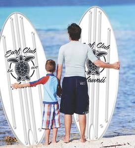 Inflatable Surf Board Pool Float - Hibiscus