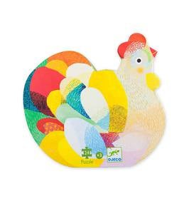 Colorful Hen Puzzle