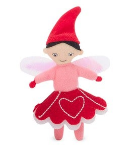 Valentine Fairy in a Heart Pocket