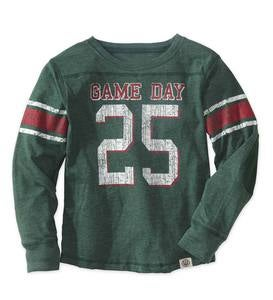 Personalized Game Day Tee - Green - 4T
