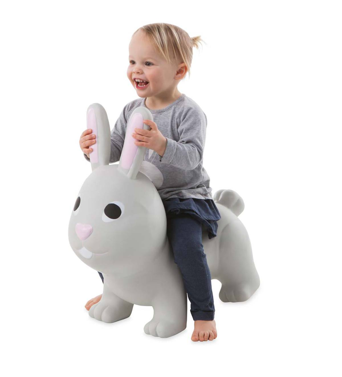 Bouncy Inflatable Toddler's Animal Jump-Along with Hand Pump and Birth Certificate!
