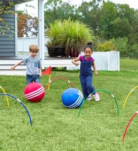 Kick Croquet Kid's Outdoor Game