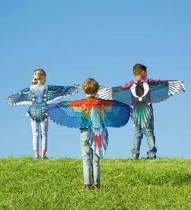 Brainy-Bird Fabric Wings