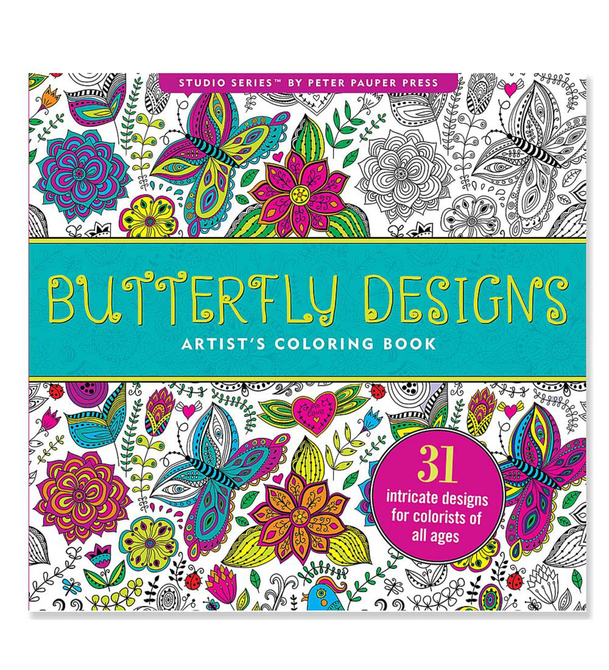 Artists\' Coloring Books - Butterfly | HearthSong