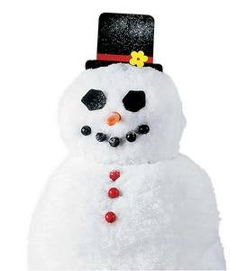 Decorate-a-Great Snowman Kit with 40 Painted Wood Pieces