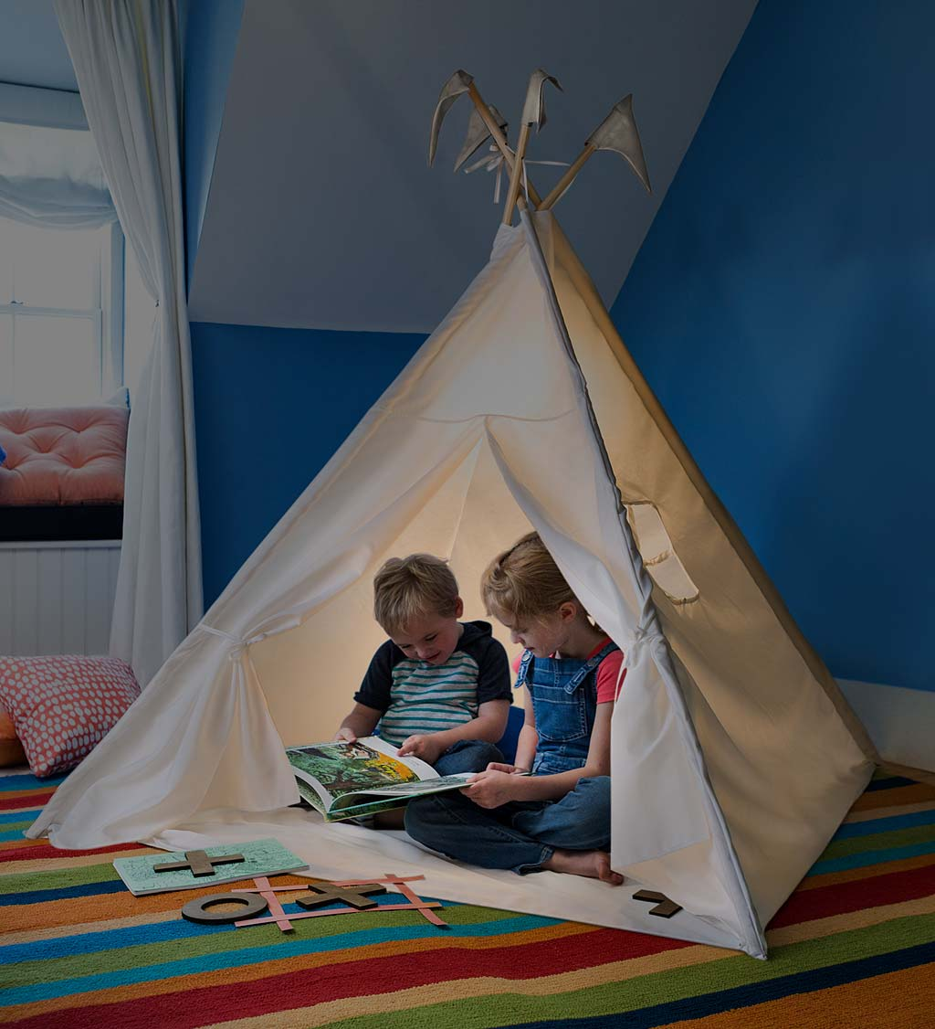 4' Indoor Play Tent with Light
